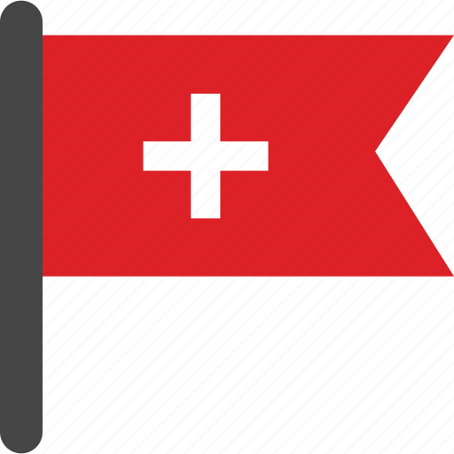 flag, swiss, swiss flag icon