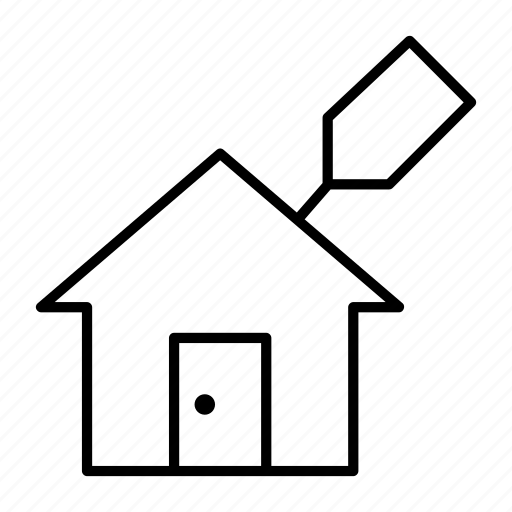 buy, house, leasing, money, purchase icon