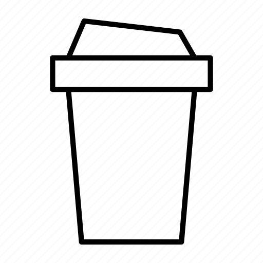 bottled, coffee, cup, drink, package icon