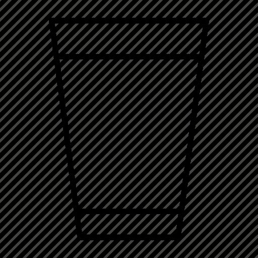 drink, glass, gulp, thirst, water icon
