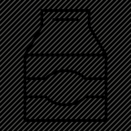 box, carton, cow, milk, package icon