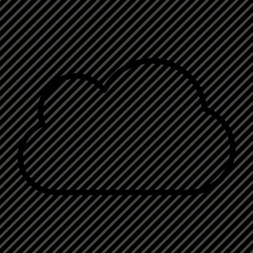 cloud, internet, provider, server, sky icon