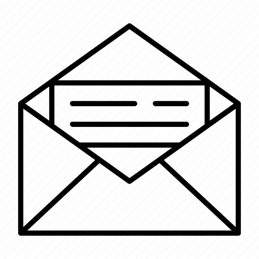 announcement, email, envelope, letter, mail icon