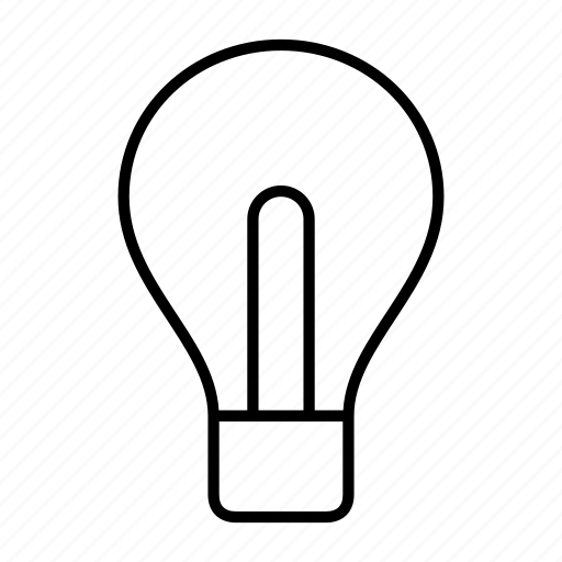 bulb, business, electronic, idea, light icon