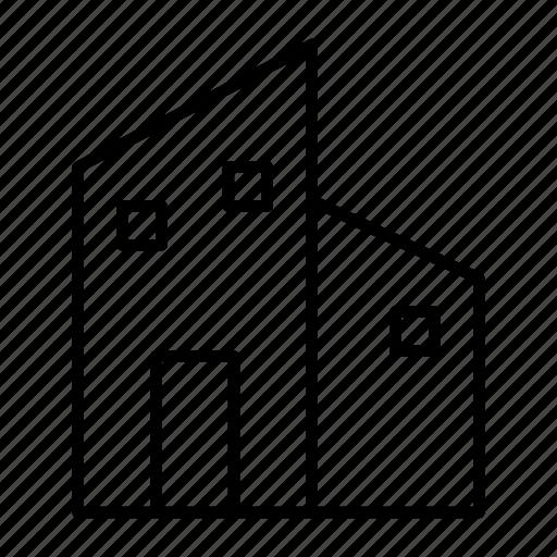 apartment, building, condominium, hotel, office icon