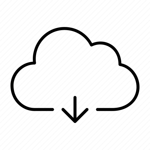 cloud, download, online, server, streaming icon