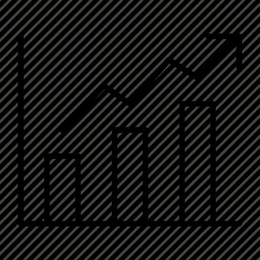bar, chart, graph, progress, report icon