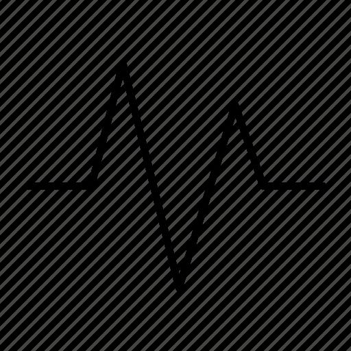 check, graph, heart, pulse, rate icon