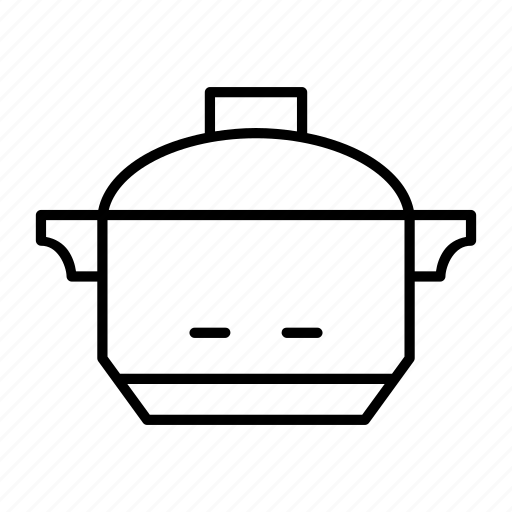 cook, household, instant, jar, rice icon