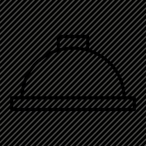 cloche, dish, main, serving, tray icon