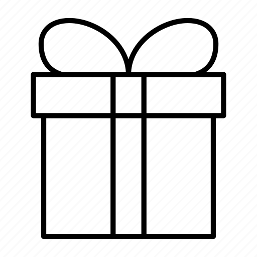 birth, free, gift, present, wrap icon