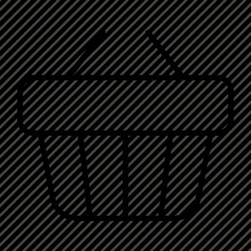 basket, buy, cart, sell, shopping icon