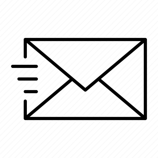 deliver, email, envelope, mail, sent icon