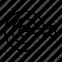 bullseye, focus, goal, pointing, target icon