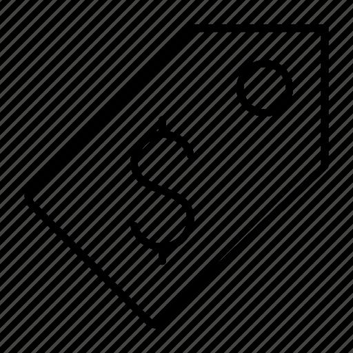 dollar, money, price, purchase, tag icon