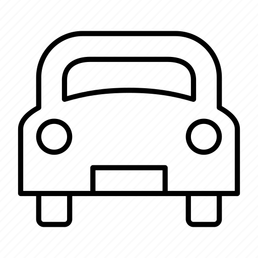 automobile, car, parking, spot, vehicle icon