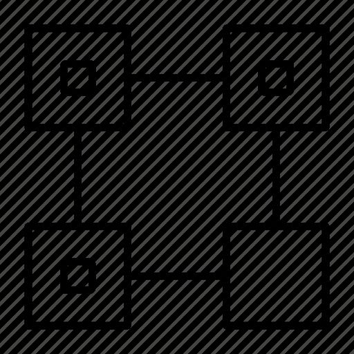 bar, code, qr, scan, url icon