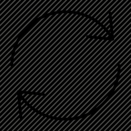 arrow, reboot, refresh, reload, sync icon