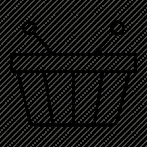 basket, cart, item, market, shopping icon