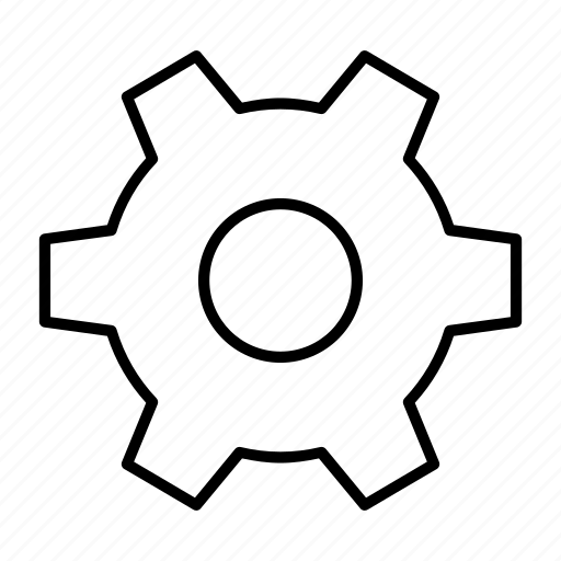 cog, configuration, dashboard, machine, setting icon
