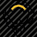 arms, symbol, kuwait, orel, coat icon