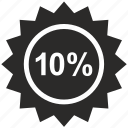 discount, label, price, pro, sale, ten icon