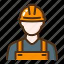 construction, worker, labor, labour