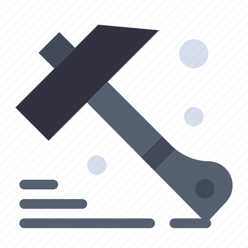 construction, hammer, tool icon