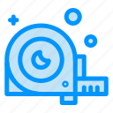 angle, construction, measurement, ruler, tool icon