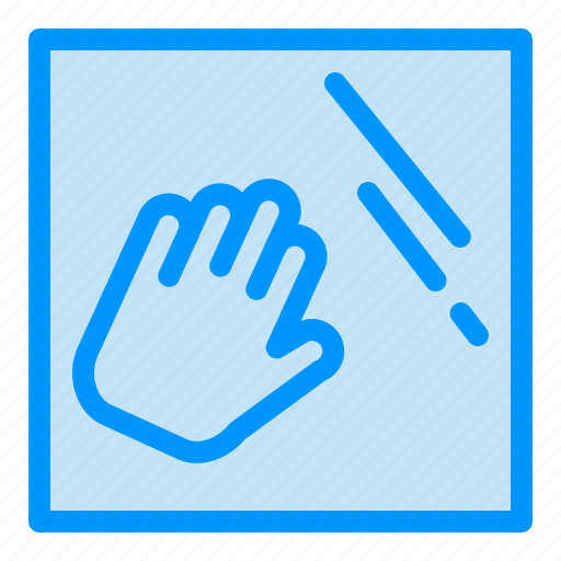 clean, cleaning, hand, housekeeping icon