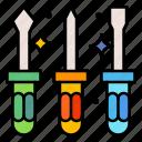 screwdrivers, repair, screwdriver, tool, construction