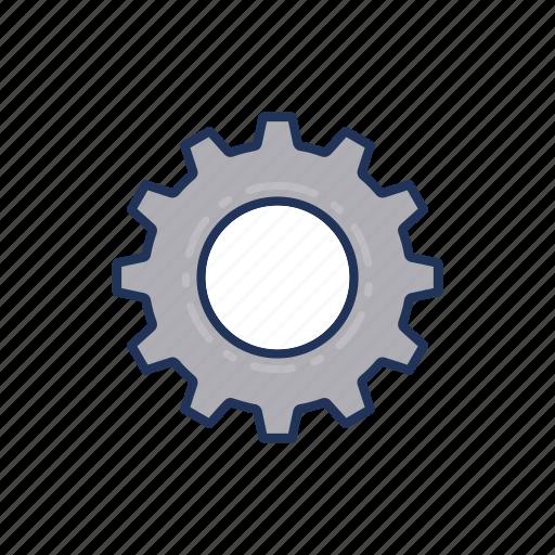 day, gear, labor, labour icon