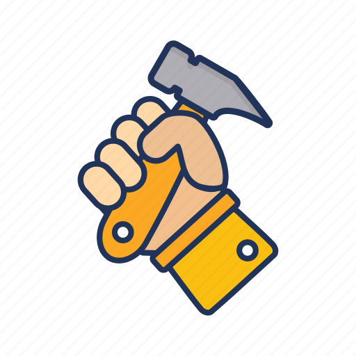 day, hammer, labor, labour icon