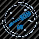 day, driver, labor, labour, screw icon