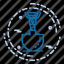 day, labor, labour, spade icon