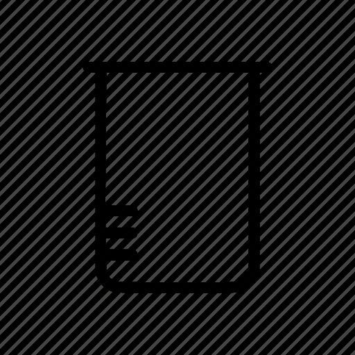 beaker, chemistry, experiment, laboratory, liguid, scientist, sience icon