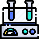 laboratory, education, electronics, lab, weight, compound, flask icon