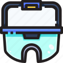 equipment, glasses, goggles, laboratory, protection, protective, safety icon