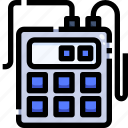 education, electronics, friability, laboratory, science, tester icon
