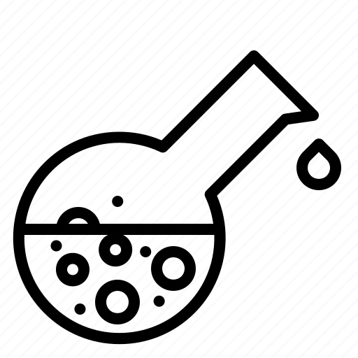 beaker, chemical liquid, chemistry, laboratory, liquid icon