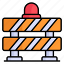 barrier, construction, road, fence, safety, boundary, barricade