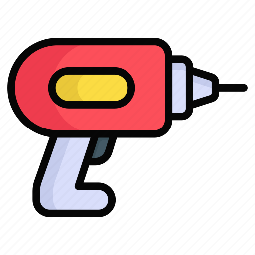 Construction, drill, driller, drilling, engineering, equipment, machine icon - Download on Iconfinder