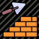 architecture, block, brick, build, cement, masonry, wall