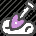 dig, farm, gardening, shovel, spade, work, worker icon
