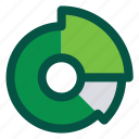 analytics, business, competitive, pie chart, statistics icon