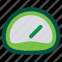 dashboard, gauge, speedometer icon