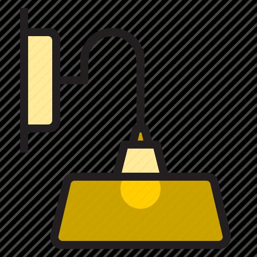 curve, decoration, electronic, furniture, lamp, vintage icon
