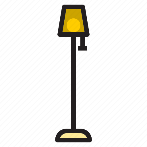 decoration, electronic, floor, furniture, lamp, standard icon