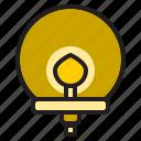 circle, decoration, electronic, furniture, garden, home, lamp icon