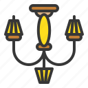 celling, electricity, furniture, household, lamp icon